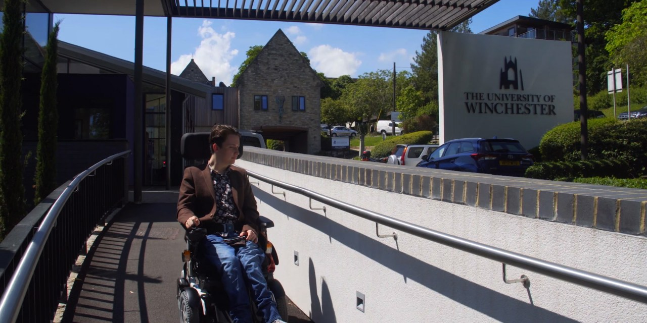 Wheelchair refusal threatened Sam's university dream