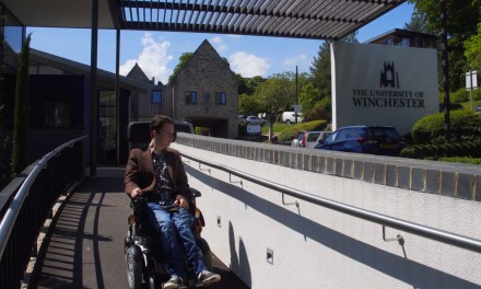 Wheelchair refusal threatened Sam's university dream