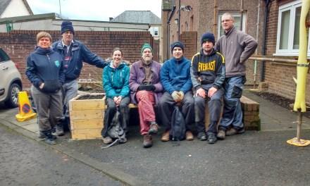 New Sensory Garden Is Berry Popular At Ochilview Court