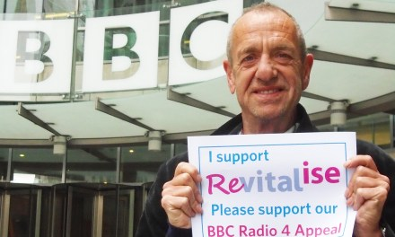 Arthur Smith to present BBC Radio 4 Appeal for Revitalise