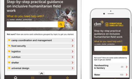 Charity CBM launches mobile app to help people with disabilities access life-saving disaster relief