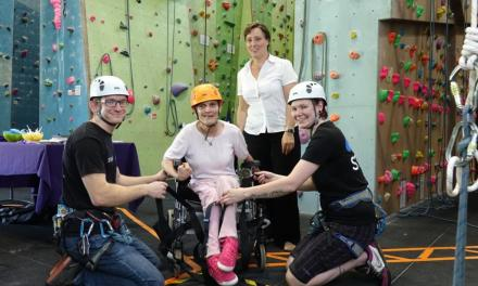 Charity's Volunteering Event Helps Disabled People Reach Heights