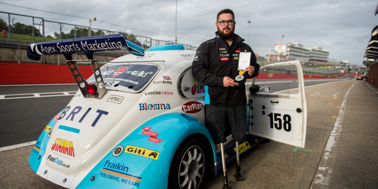 Military veteran and Invictus Games medallist joins disabled racing team