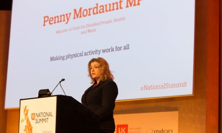 Penny Mordaunt MP announces new partnership to support disabled people being active