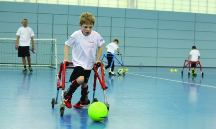Adapting sports proves vital in supporting people with cerebral palsy to get active