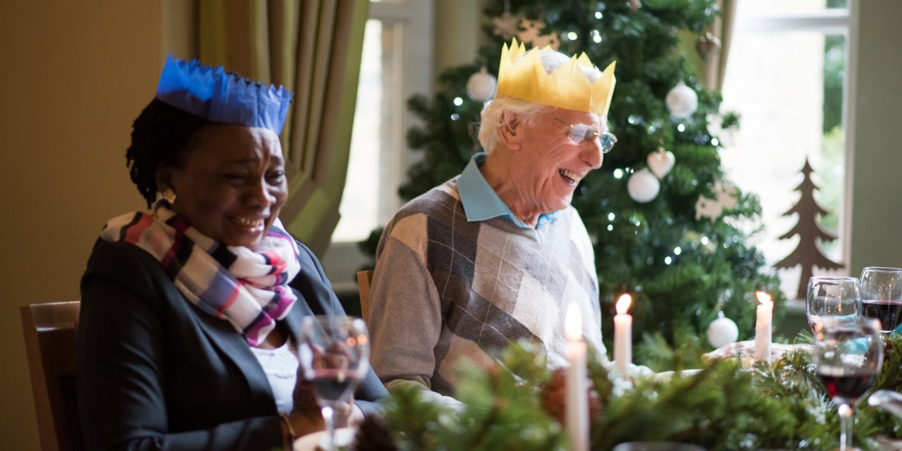 Glasgow care home host Christmas market for residents