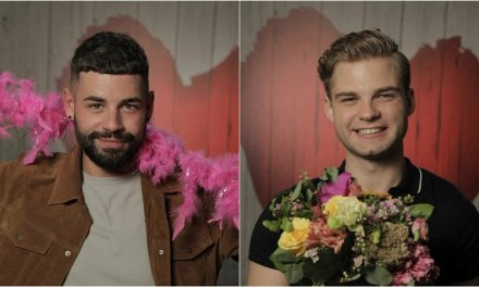 Sign language date in First Dates Ireland's restaurant
