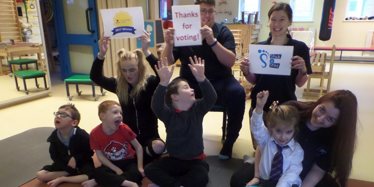 Stick 'n' Step secures Aviva Community Fund