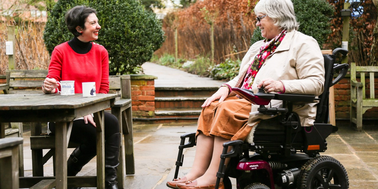 Disability Advisor Elizabeth Dixon enjoys an active role in her community with Ottobock powerchair