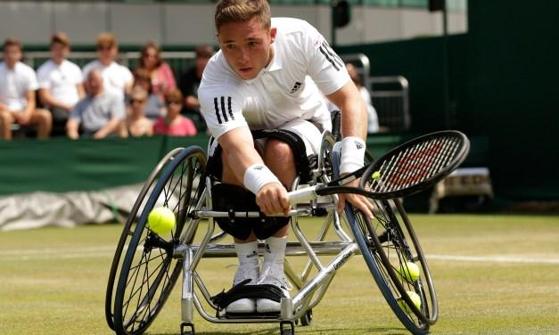 Alfie Hewett through to Wimbledon semi-finals