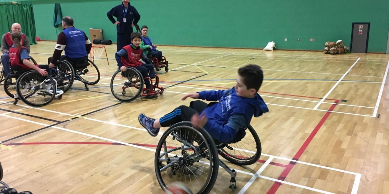 Breaking barriers to sport with WheelPower