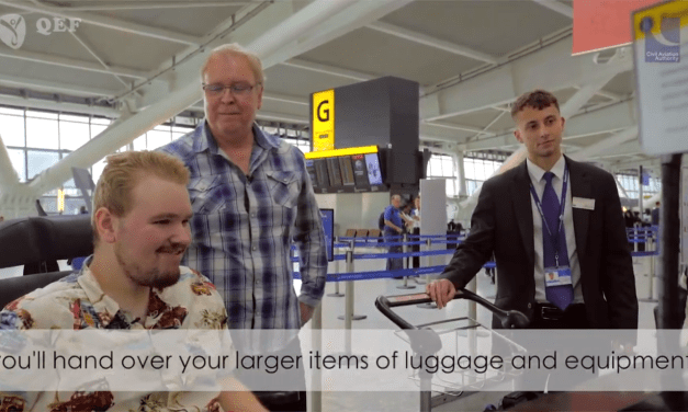 Charity makes unique film available to help disabled air travellers