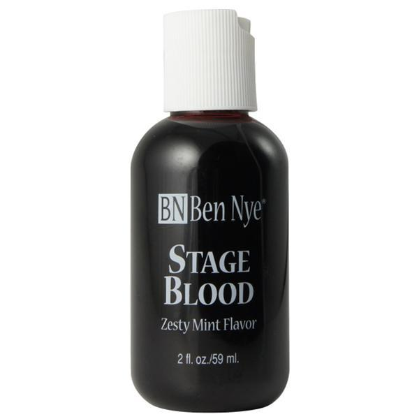 A small squeezy bottle containing very deep red fake blood