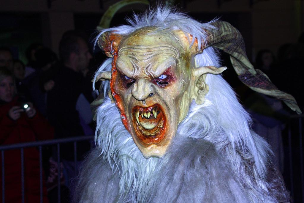 The pre-christmas celebration of Krampus