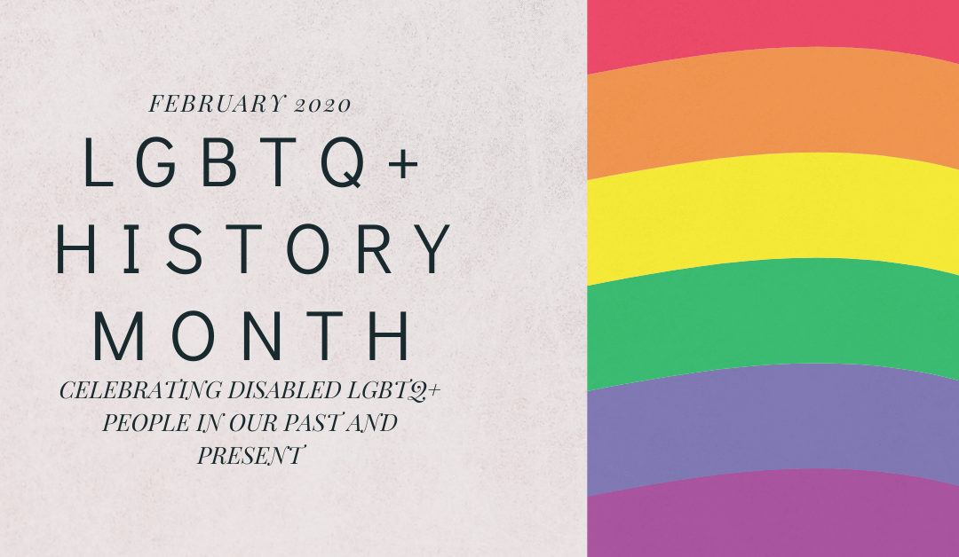 Celebrating LGBTQ+ History Month