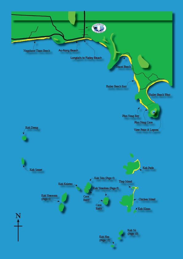 Local Islands Ao Nang