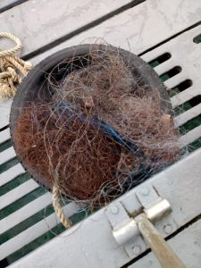 Abandoned Fishing Net removal
