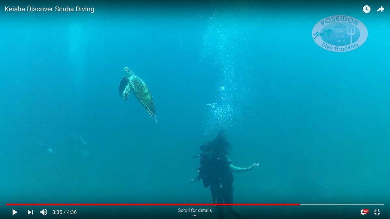 Keisha Discover scuba diving