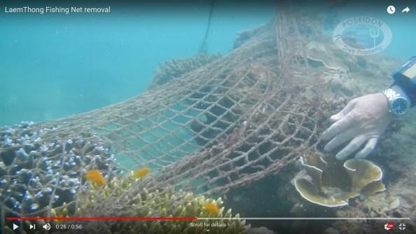 Laem Thong Fishing Net removal