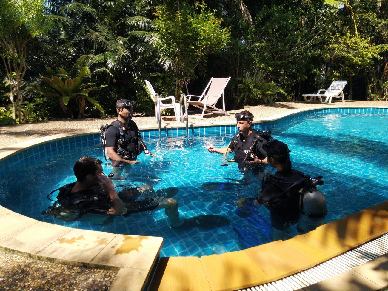 Dive Course Pool