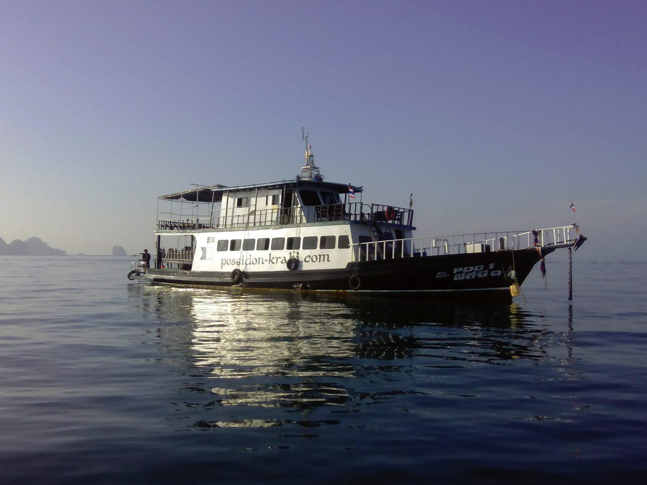 PDC1 Poseidon Dive Center Boat