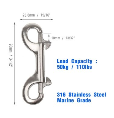 Double Ended Bolt Snap Hook