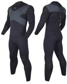 Hevto 3mm men neoprene wetsuit