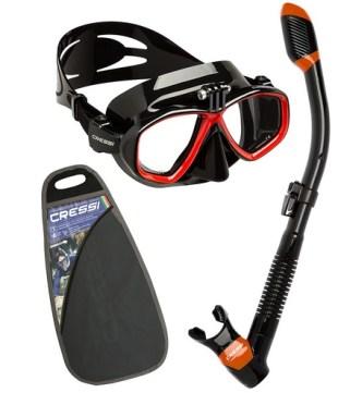 Cressi Action Set Kit de randonnée Aquatique Mixte