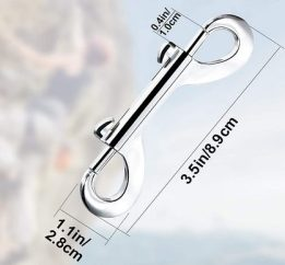 Double Ended Bolt Snap Hook 3inch