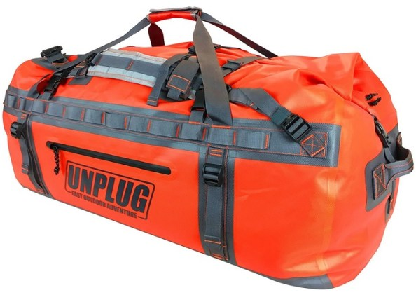 Duffel Bag orange unplug