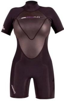 Women shorty wetsuit