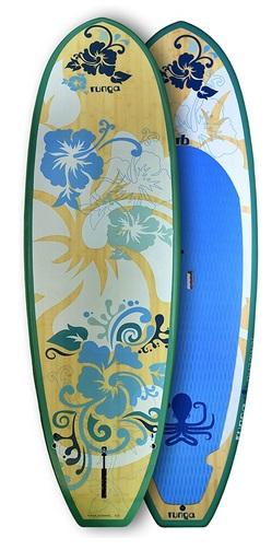 RUNGA PUAAWAI Bamboo 9.0 Stand-UP Paddle Board SUP HARDBOARD
