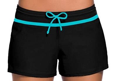 Aleumdr Womens Swim Shorts