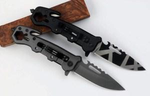 Outdoor clé Couteau Pliant multifonction
