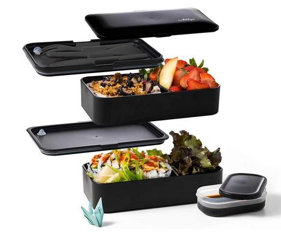 Atthys Lunch Box Noir Mat