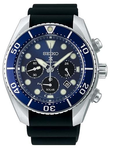 Seiko Prospex Chrono Diver's watch 200m Solar