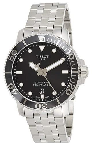 Tissot mens Seastar 660-1000 Stainless Steel Dive watch
