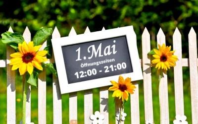 Öffnungszeiten 1. Mai