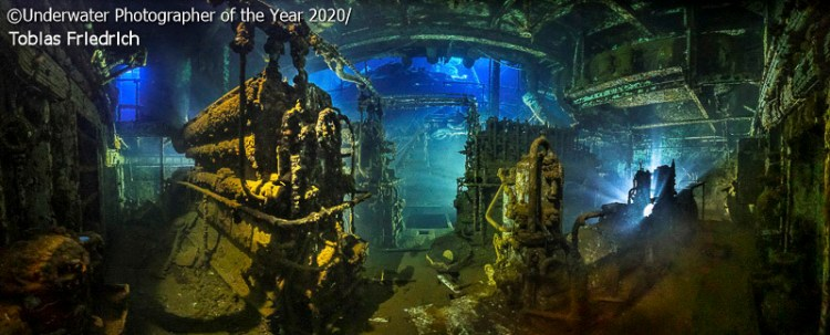 upy2020 wreck engine room