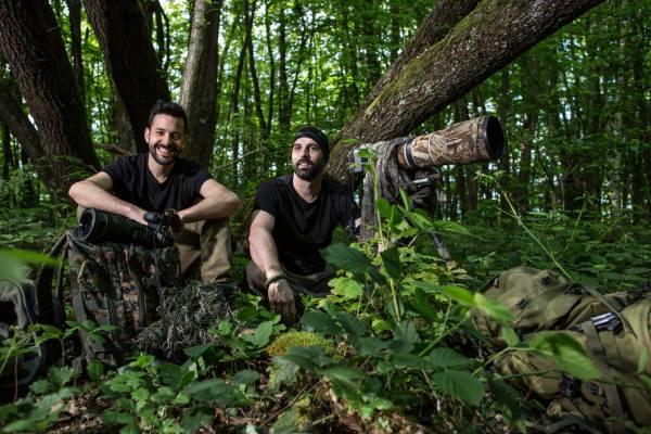 Julien Donzé et Fabien Wohlshlag
