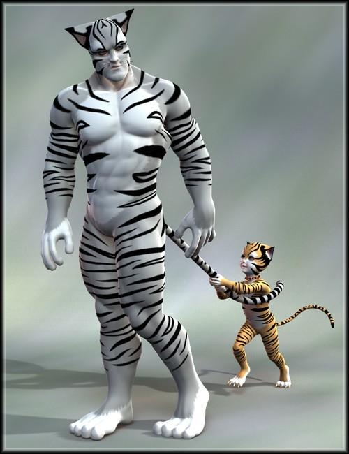 Catgirl Genesis Toon Animals And Creatures For Daz
