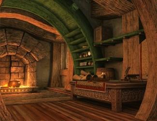 Fantasy Art Fantasy Cabin Interior