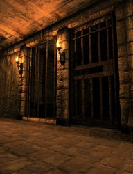 dungeon castle hall prison cell fantasy medieval daz posercontent castles dark 3d haunted palace poser props jail cave anime studio