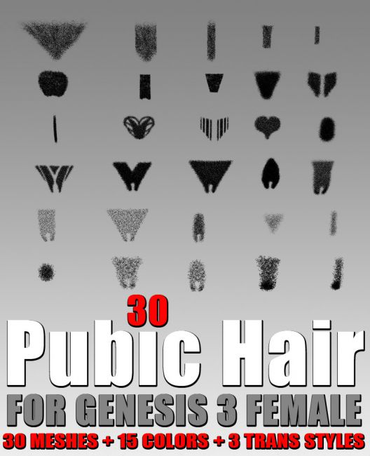 Female Pubic Hairstyles