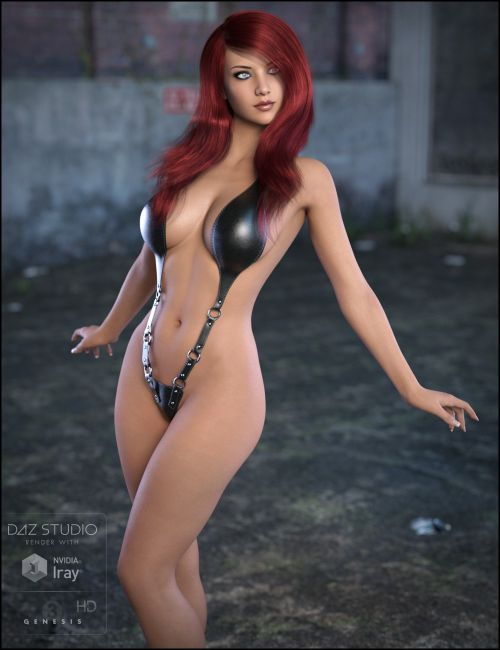 Gemma for Genesis 3 Female  3D Models for Poser and Daz Studio