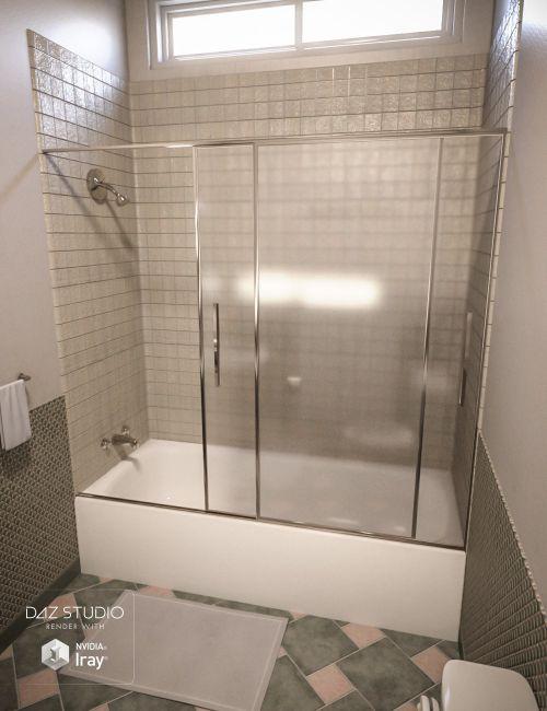 The Washroom  3D Models for Poser and Daz Studio