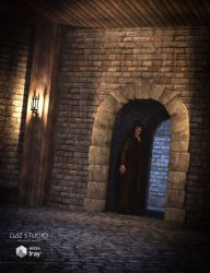 fantasy chamber interior daz poser