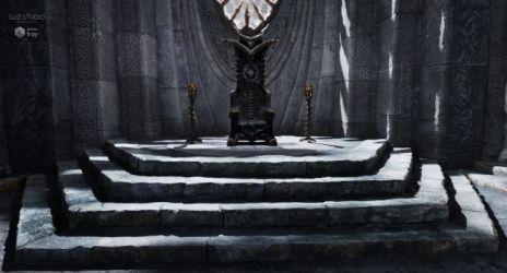 throne room fantasy daz studio 3d