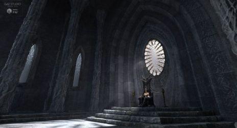 throne room fantasy 3d poser