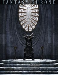 throne room fantasy 3d poser interiors